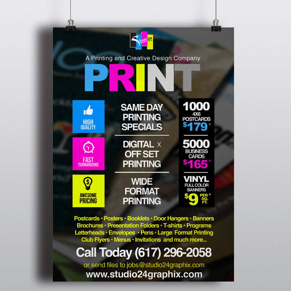 Posters studio24graphix for Best store to buy posters
